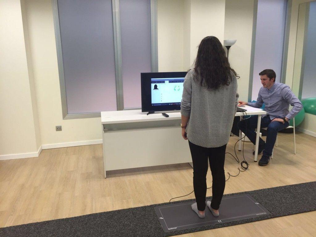 Estudio pisada mediante plataforma de presiones Sistema footscan®