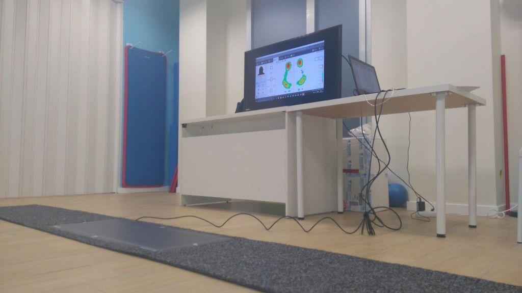 Sistema footscan® para el estudio de la marcha y  la pisada.